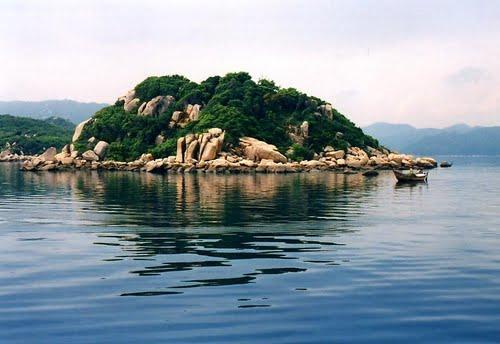 Bán đảo Hòn Gốm (Ảnh ST)