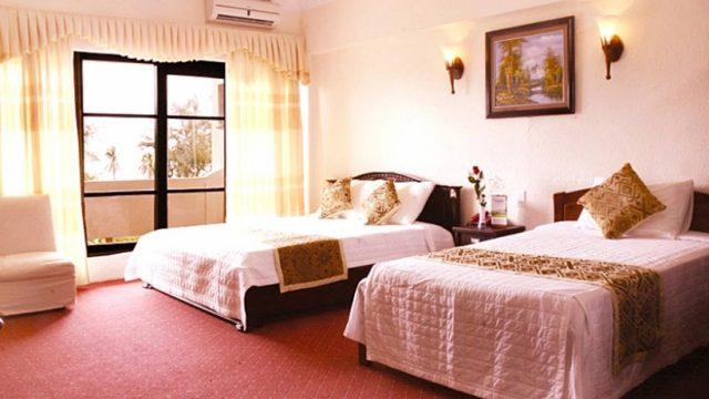 Khách sạn có 66 phòng nghỉ với sức chứa trên 200 khách chia thành nhiều loại phòng đầy đủ tiện nghi,