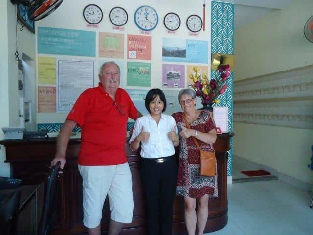 Du khách rất hài lòng về chất lượng phục vụ của khách sạn (Ảnh ST)