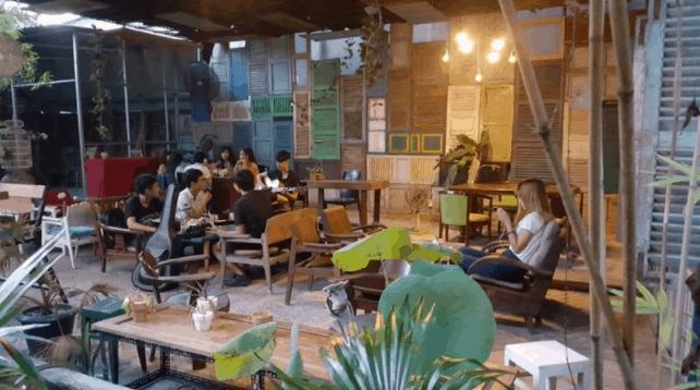 Không gian quán Store 8 Cafe