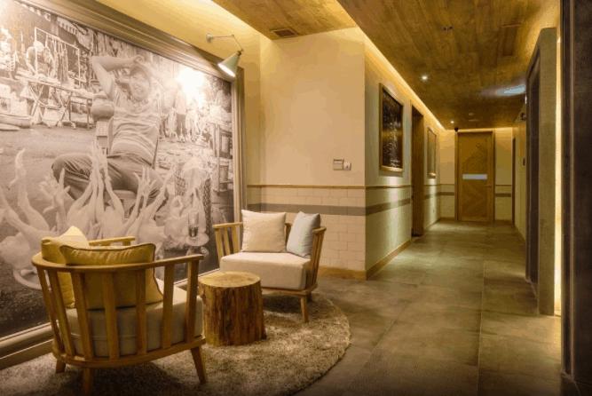 Không gian đẹp tại khách sạn Fusion Suites