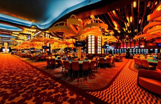 Không gian hoành tráng bên trong casino Phú Quốc