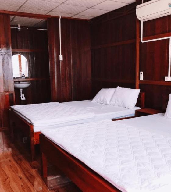 Không gian bên trong homestay Thảo Thường Camp
