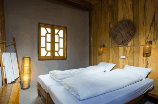 Không gian phòng nghỉ tại homestay Chí Nguyễn KG