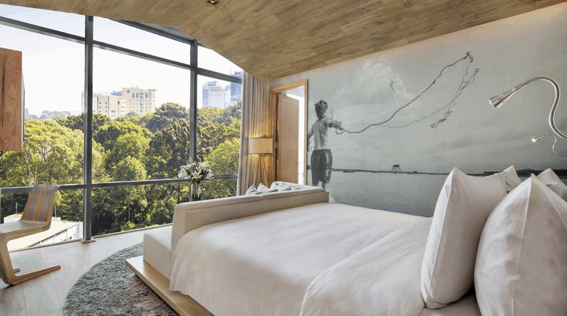 Không gian phòng nghỉ khách sạn Fusion Suites