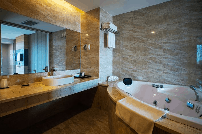 Không gian phòng tắm hiện đại, cao cấp