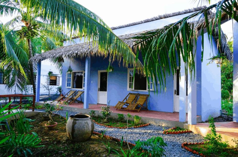 Không gian sân vườn bình dị tại Coco Farmstay