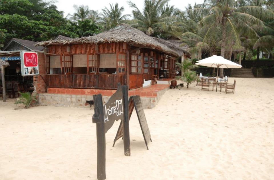 Khu Aromaspa gần biển tại Việt Thanh resort