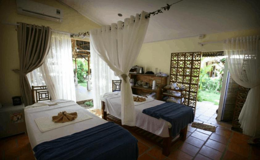 đến Langchia village Phu Quoc trải nghiệm dịch vụ spa cao cấp