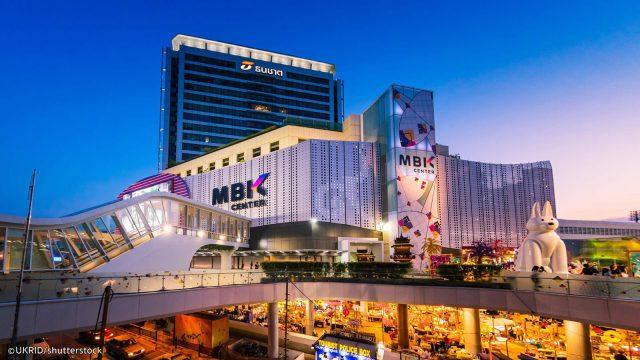 Một trong những trung tâm thương mại lớn ở Thái Lan (ẢNH ST)