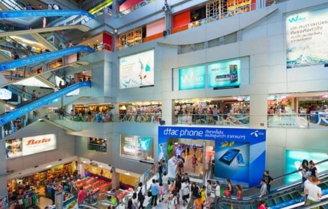 Không gian mua sắm bên trong (ẢNH ST)