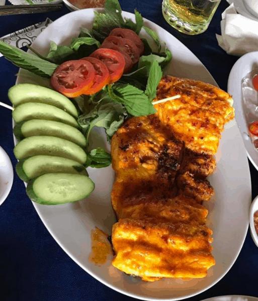 Món cá nướng thơm ngon