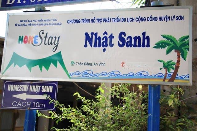 Nhật Sanh Homestay (Ảnh ST)