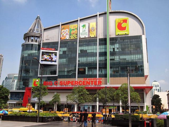 Big C cũng là một nơi mua sắm quen thuộc của các du khách khi đến Bangkok (ẢNH ST)