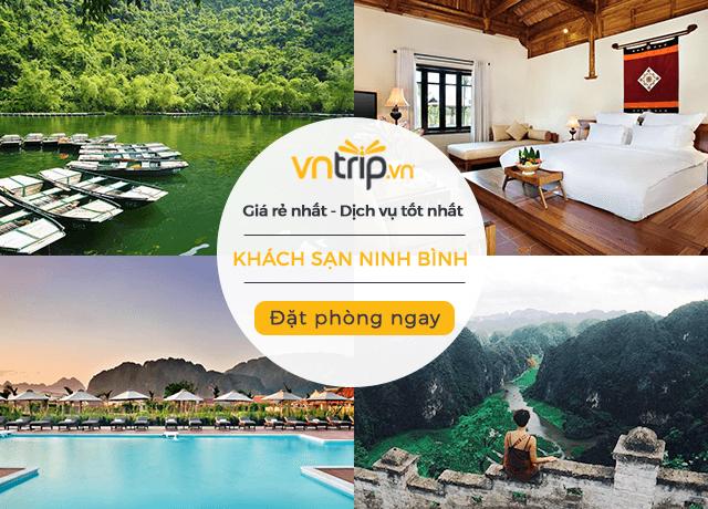 đặt phòng khách sạn Ninh Bình trực tuyến