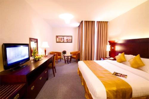 Phòng nghỉ với thiết kế sang trọng cùng những dịch vụ nghỉ dưỡng tuyệt vời khác phục vụ du khách (Ảnh ST)