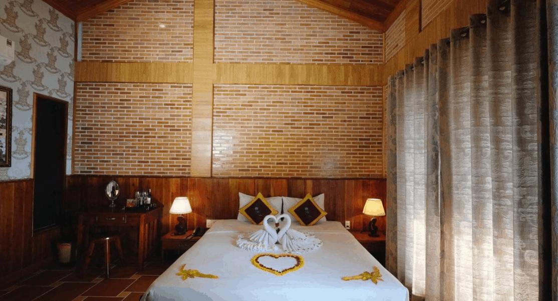 Không gian phòng nghỉ tại Cottage Village