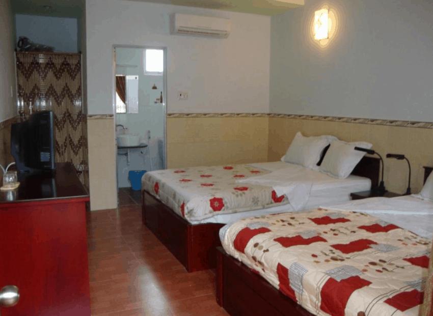 Phòng nghỉ tại khách sạn Oasis