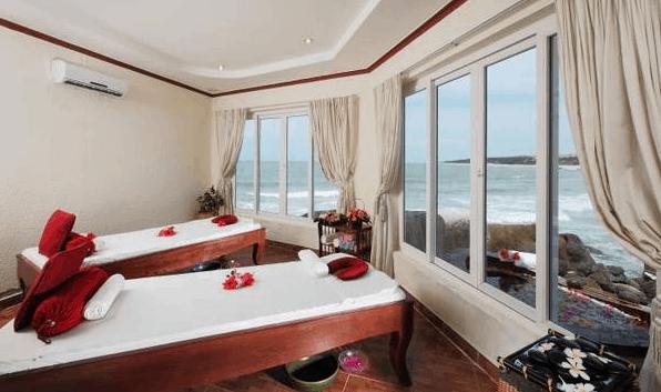 Phòng spa tại khu nghỉ dưỡng Rock Water Bay