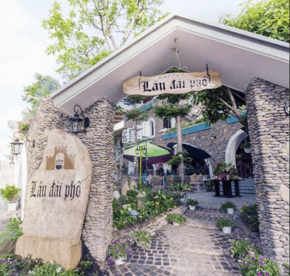 Hình ảnh quán cafe Lâu Đài Phố