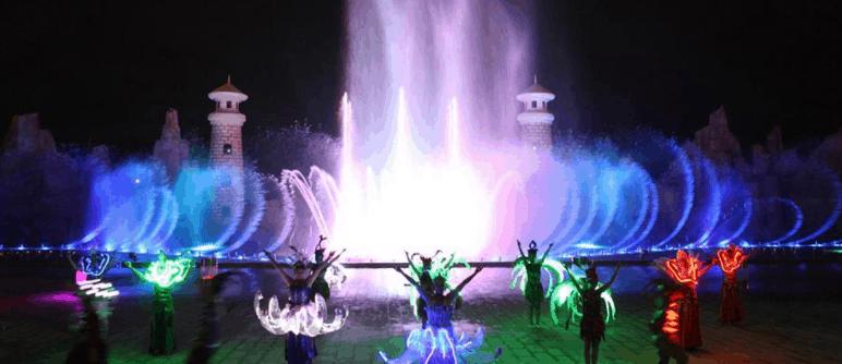 Sân khấu nước hoành tráng tại Vinpearl Land Phú Quốc