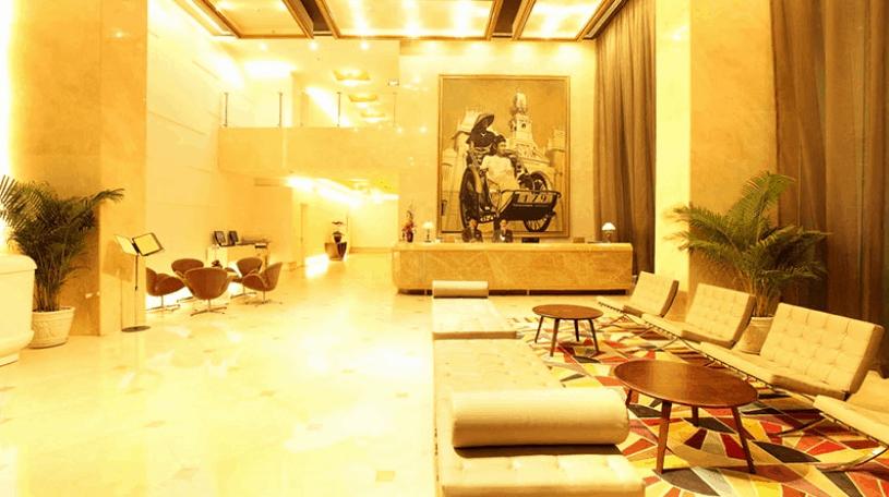 Sảnh khách sạn Liberty Central Saigon