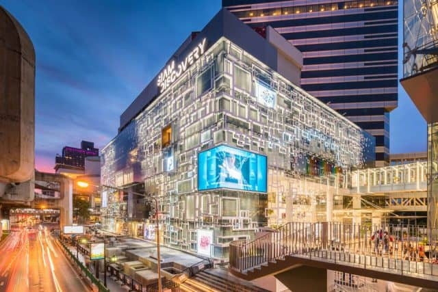 Siam Center lung linh về đêm (ẢNH ST)