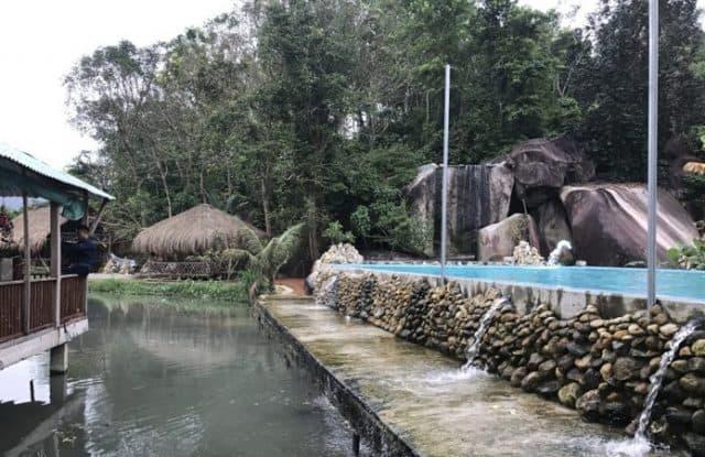 Hồ nước nhân tạo có dòng nước chảy không ngừng (Ảnh ST)