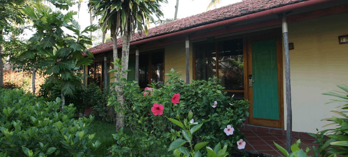 Langchia village sở hữu một không gian xanh mát
