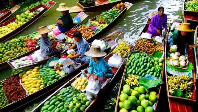Chợ nổi Amphawa (Ảnh ST)