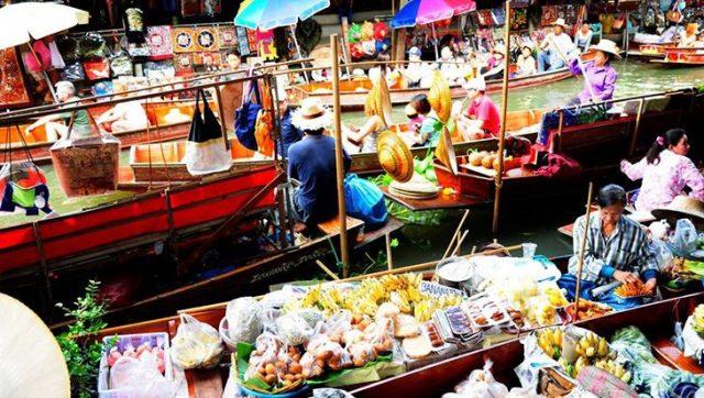 Nơi đây là một trong những khu chợ lâu đời nhất tại Bangkok (Ảnh ST)