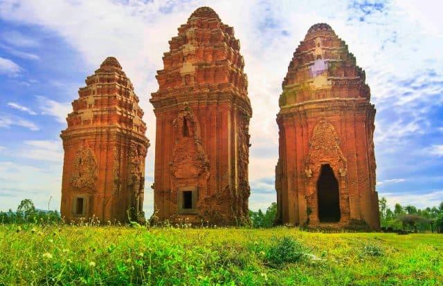 Di tích còn lưu lại của nền văn hóa Chăm Pa cổ (ẢNH ST)