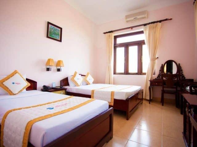 Thiết kế phòng ngủ khách sạn Thiên Hải Sơn (ảnh ST)