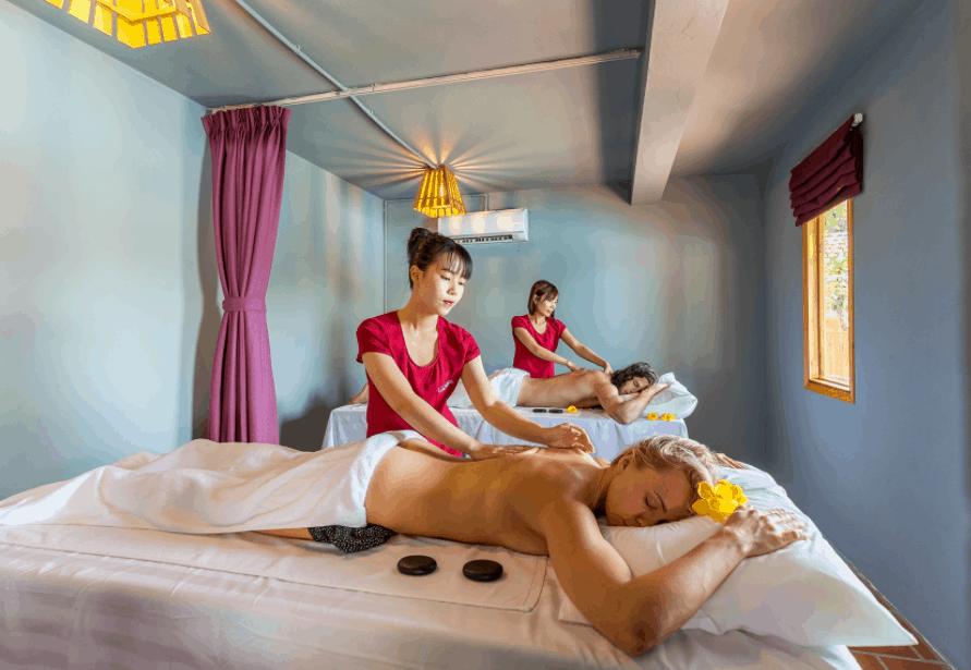 Thư giãn với dịch vụ spa tại Daisy Village