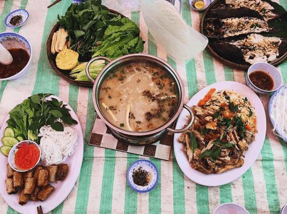 Thưởng thức những món ăn quê dân dã