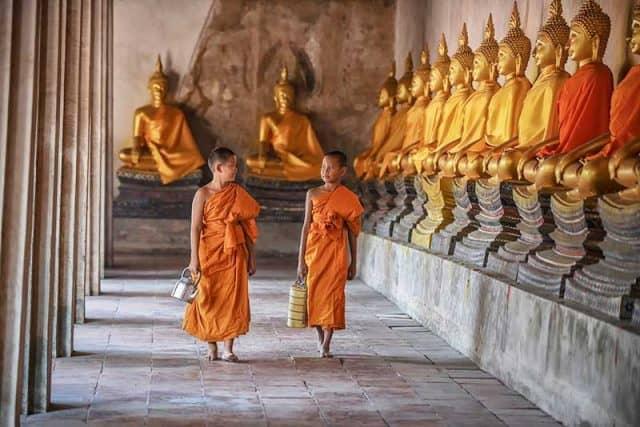 Ngôi chùa sở hữu rất nhiều tượng Phật (Ảnh ST)
