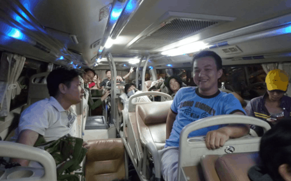 Đi Kiên Giang bằng xe khách giường nằm