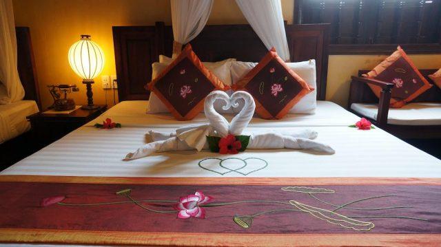 Không gian ấm cũng trong các phòng nghỉ của khách sạn (Ảnh ST)