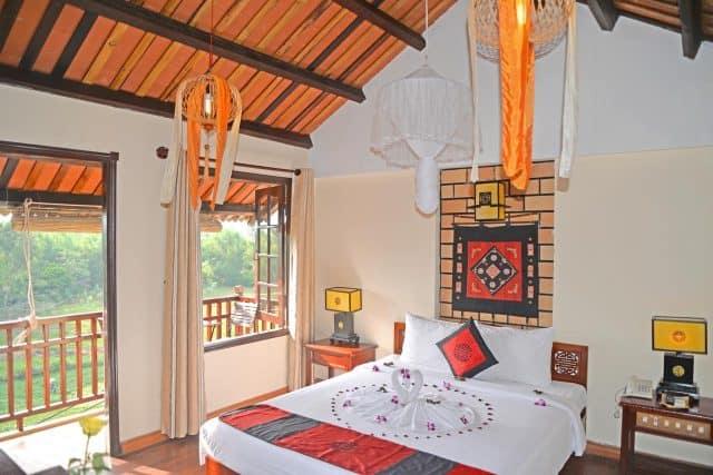 Phòng nghỉ đầy đủ tiện nghi trong khách sạn Thiện Thanh (Ảnh ST)
