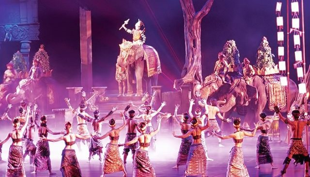 Phuket Fantasea Show (Ảnh ST)