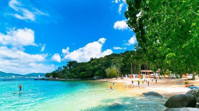 Bãi biển Patong ở Phuket (Ảnh ST)