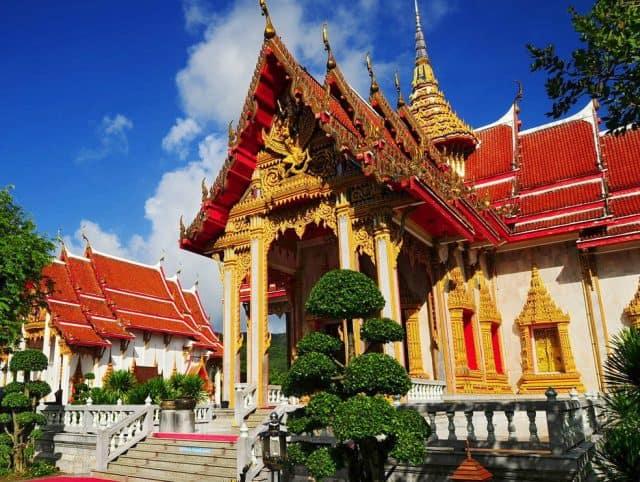 Nơi sở hữu những kiến trúc độc đáo riêng có của Thái Lan (Ảnh ST)