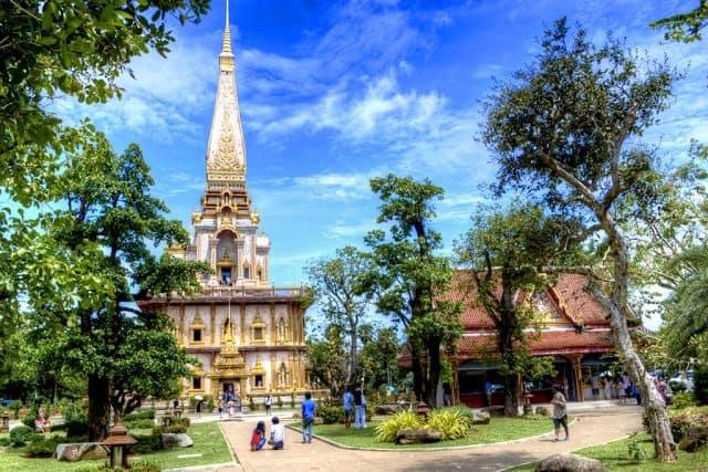 Wat Chalong - điểm đến du lịch Phuket (Ảnh ST)