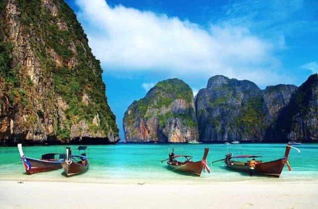 Quần đảo Koh Phi Phi (Ảnh ST)