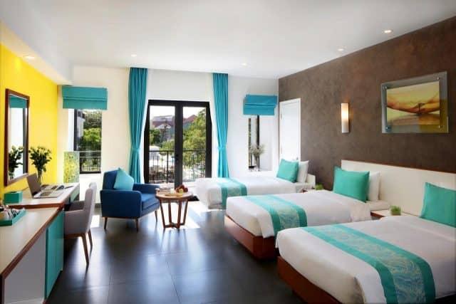 Đơn giản nhưng tinh tế trong mỗi phòng nghỉ của khách sạn (Ảnh ST)