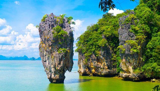 Phong cảnh thơ mộng tại vịnh Phang Nga (Ảnh ST)