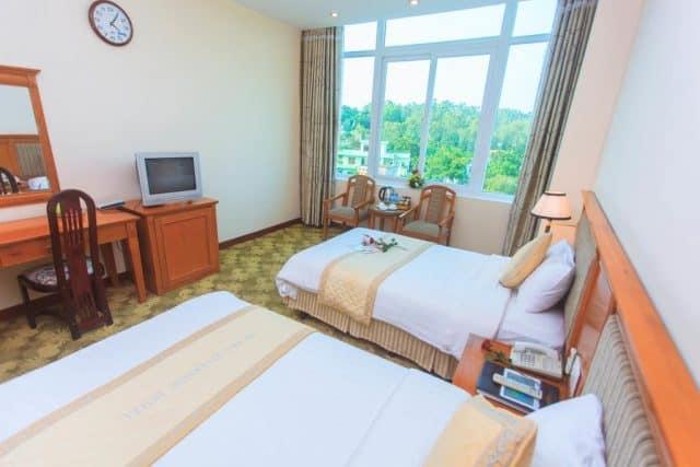 Phòng nghỉ trong khách sạn Sông Trà (Ảnh ST)