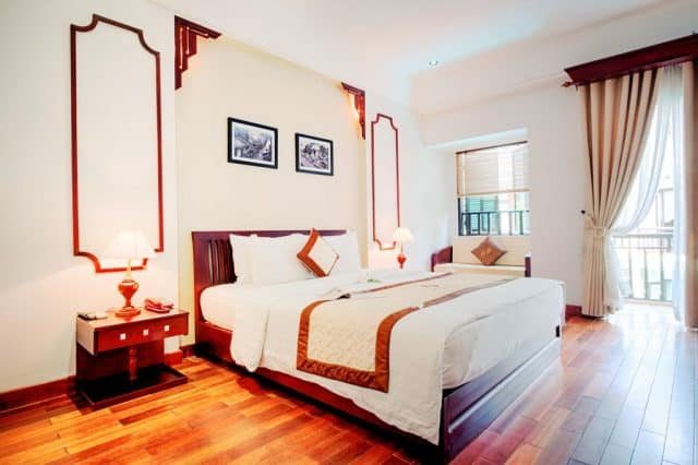 Phòng nghỉ trong khách sạn Thùy Dương (Ảnh ST)
