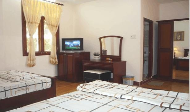 Phòng ngủ khang trang, sạch sẽ, đầy đủ nội thất