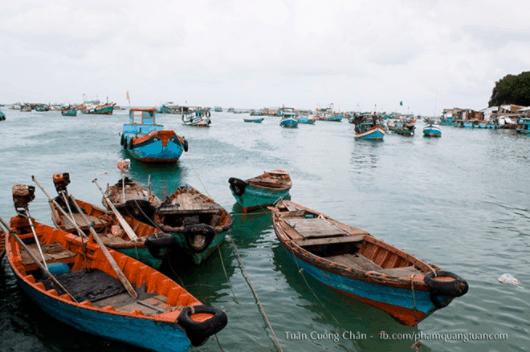 Những con thuyền của ngư dân